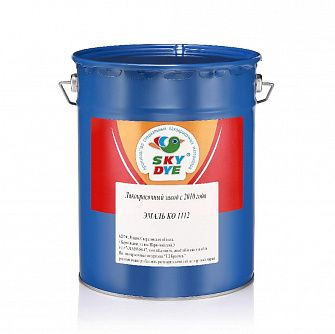 Эмаль КО-1112 Sky Dye (Скай Дай) черная 25 кг