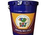 Эмаль МЛ-1110 Sky Dye (Скай Дай) красная 25 кг