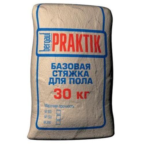 Стяжка базовая  для пола М200 30кг Praktik