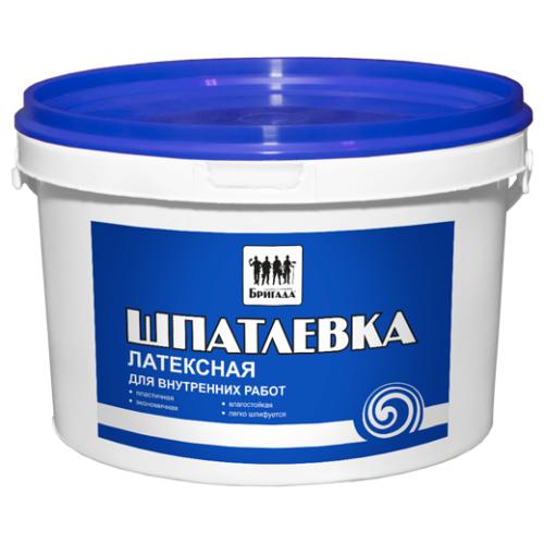 Шпатлевка универсальная «Бригада» Латексная 1 кг