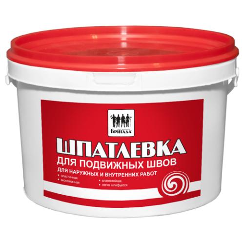 Шпатлевка универсальная «Бригада» для подвижных швов 3 кг