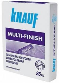 Шпаклевка гипсовая Мультифиниш 25 кг КNAUF