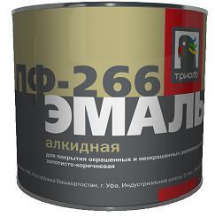 Эмаль «ТРИОЛЬ» ПФ-266 для пола золотисто-коричневая 22кг