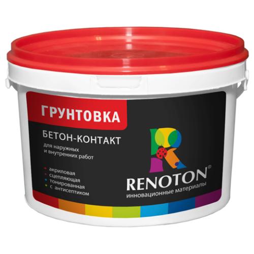 Грунтовка «RENOTON» Бетон-контакт  фр. 0,2 / 0,5 мм 4 кг