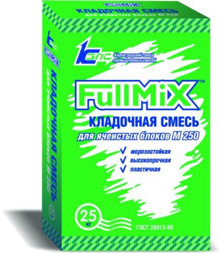 Кладочная смесь для ячеистых блоков М250 FullMIX, 25 кг