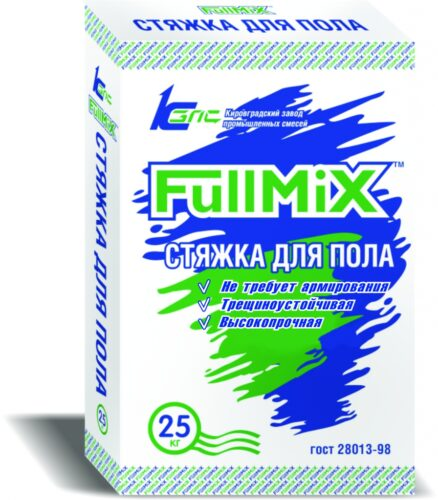 Стяжка для пола FullMIX, 25 кг