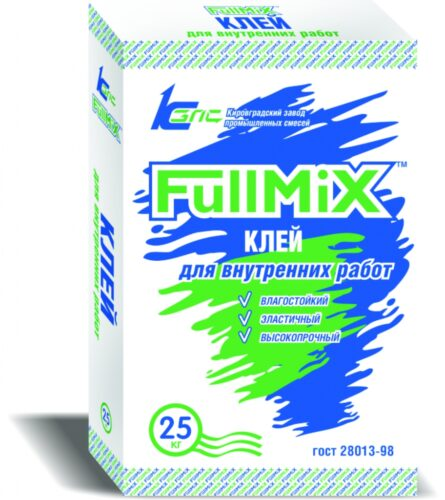 Клей для керамогранита FullMIX  универсальный, 25 кг