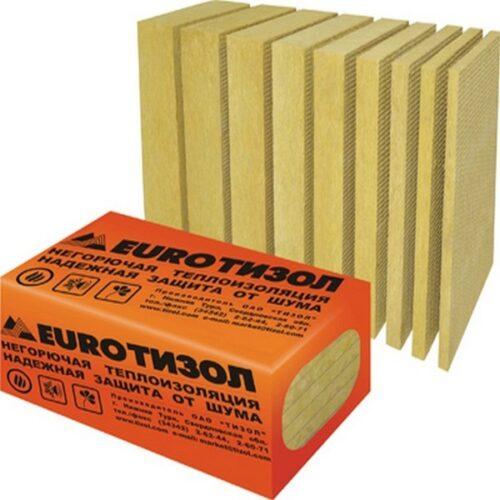 Теплоизоляция  Евро-Фасад 50х600х1000 (150кг/м3) 1 уп=0,125м3=2,5м2