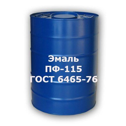 Эмаль ПФ-115 30кг голубая