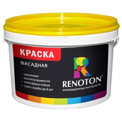 Краска «RENOTON» Фасадная 5 кг