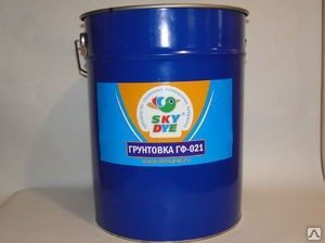 Грунт ГФ -021 красно-коричневый 25 кг Sky Dye (Скай Дай)