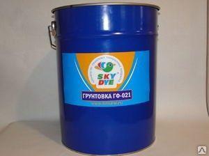 Грунт ГФ -021 красно-коричневый 30 кг Sky Dye (Скай Дай)