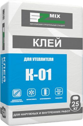 Клей для утеплителя SZ-K01 25 кг