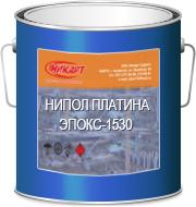 """Грунт-эмаль """"НИПОЛ ПЛАТИНА ЭПОКС-1530"""" (серая, глянец)"""