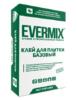 Клей для плитки Базовый Evermix 25 кг