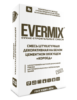 Штукатурка декоративная Короед на белом цементе Evermix 25 кг