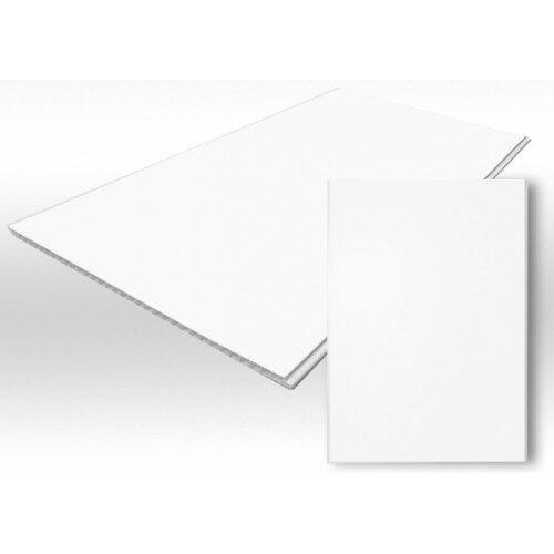 Панель ПВХ 2700х250х9мм белый матовый Откосная